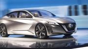 Vmotion 2.0, la berline du futur selon Nissan