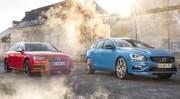 Essai Audi S4 Avant face à la Volvo V60 Polestar