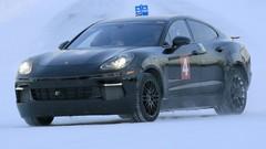 La berline électrique Porsche Mission E en préparation