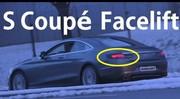 Mercedes Classe S Coupé : restylage bientôt prêt