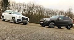 Essai Audi SQ7 vs BMW X5 M50d : Combat de titans !