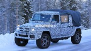 Un Mercedes Classe G 4x4² pick-up ?