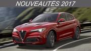 Nouveautés 2017 - SUV Compacts: du nouveau avec le Stelvio