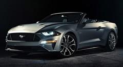 Avare en images, la Ford Mustang Cabriolet restylée