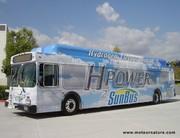 Londres choisit des bus hydrogène américains