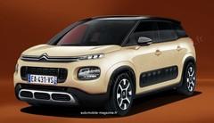 Fini le C3 Picasso : Citroën prépare le C3 Aircross