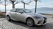 Essai Lexus IS 300h restylée (2017) : elle continue à défier les allemandes