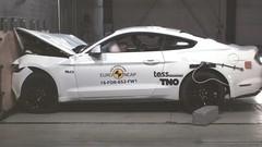 Crash-test Euro NCAP: deux étoiles pour la Ford Mustang!