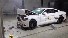 2 étoiles seulement au crash-test Euro NCAP pour la Ford Mustang