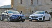 Essai Alfa Romeo Giulia vs Mercedes Classe C : Le passage de flambeau ?