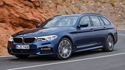 BMW Série 5 Touring : avec correcteur d'assiette