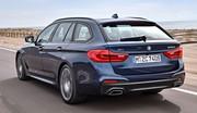 BMW Série 5 Touring: volume chic