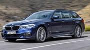 Nouvelle BMW Série 5 Touring : le break se montre avant Genève
