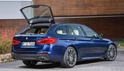 Le break de la nouvelle BMW Série 5 est à Genève