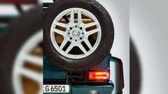 Mercedes G65 AMG 4x4² Landaulet : avec un V12