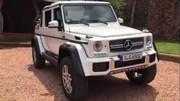 Une vidéo dévoile le Mercedes-Maybach G650 Landaulet
