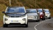 Voitures électriques : Renault Zoé vs Nissan Leaf vs Hyundai Ioniq vs BMW i3