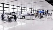 Bugatti : la Chiron est entrée en production