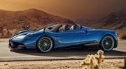 La Pagani Huayra Roadster ôte le poids avant le Salon de Genève 2017