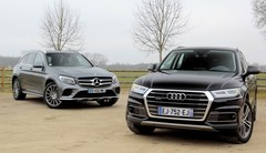 Essai Audi Q5 vs Mercedes GLC : stars du ring
