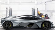 Aston Martin : un V12 6.5 Cosworth pour la supercar AM-RB 001