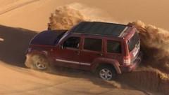 Essai Jeep Cherokee 2.8 CRD : Le bonheur est dans le sable