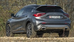 Essai Infiniti QX30 2.2d AWD : Le coupé 4×4 qui tranche