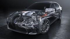Lexus LS 500h : 140 km/h en mode électrique