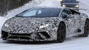 Chrono record pour la future Lamborghini Huracan Performante au Nürburgring