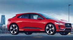 Le Jaguar I-Pace Concept en rouge