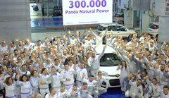 Fiat a produit 300.000 Panda roulant au gaz naturel