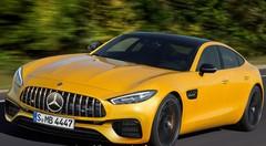 Un concept de berline Mercedes-AMG GT annoncé au salon de Genève