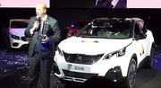 La Peugeot 3008 élue voiture de l'année