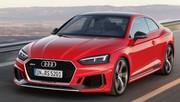 Audi RS5 (2017) : premières photos officielles