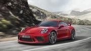 Voici la Porsche 911 GT3 et sa boîte manuelle !