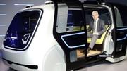 Volkswagen Sedric Concept : la surprise futuriste du Salon de Genève 2017