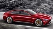 816 ch et cinq portes pour la Mercedes-AMG GT Concept
