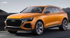 Audi Q8 Sport Concept : le SUV, version haut de gamme