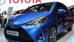 Toyota Yaris restylée, de la gueule et enfin du sport