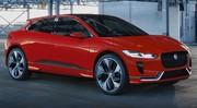 Jaguar I-Pace : nouvelle couleur pour ce concept en attendant la version définitive