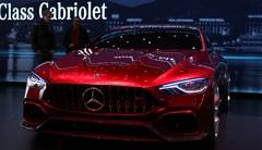 Mercedes GT Concept : AMG des familles