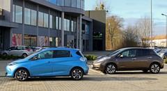 Essai Renault Zoé ZE 40 vs Nissan Leaf : Combat de watts