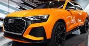Q8 Sport Concept, le SUV virtuose d'Audi
