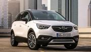 Opel Crossland X : confirmation des moteurs