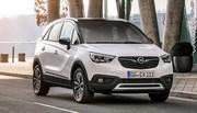 Opel Crossland X 2017 : Le Crossland X dévoile sa gamme et motorisations