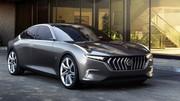 Pininfarina H600 : Voici la plus désirable des berlines électriques !