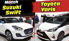 Suzuki Swift 4 vs Toyota Yaris : le match depuis le salon de Genève