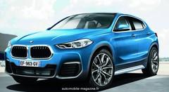 Le futur BMW X2 poursuit sa préparation