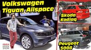 Le Volkswagen Tiguan Allspace face aux Kodiaq et 5008