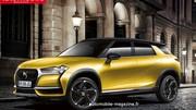 Urbain et chic, le futur SUV DS 3 Crossback